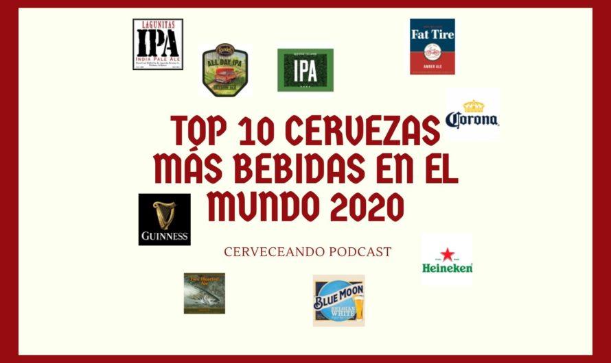 Las 10 cervezas más bebidas en todo el mundo en 2020