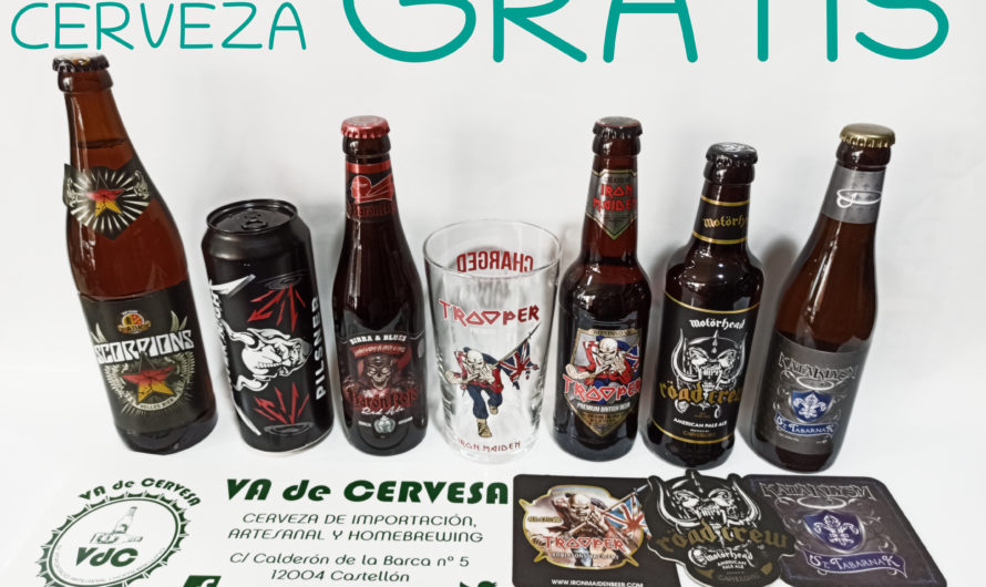 SORTEO CERVEZA GRATIS GRUPOS DE METAL