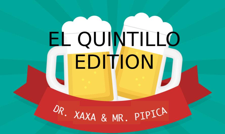 EL QUINTILLO 003 – CERVEZAS DE GASOLINERA VOLUMEN 1 – LISTO PARA ESCUCHAR Y VOTAR